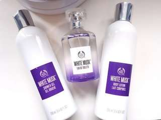 Brand New The Body Shop White Musk Body Lotion