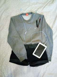 Authentic Gray Nike Pullover