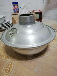 Vintage charcoal steamboat