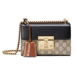 Looking for authentic gucci padlock bag