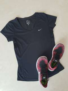 Original Nike Dri-Fit V-neck Shirt