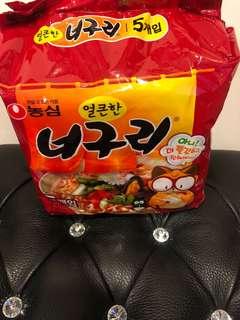 🚚 Shih🎀(現貨搶購🤩)🇰🇷韓國昆布風味海鮮浣熊麵