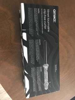 Amika Zebra Curler Wand 19mm Tourmaline in Box