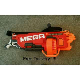 Nerf Mastodon Blaster Gun