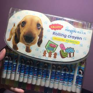 Rolling Crayons
