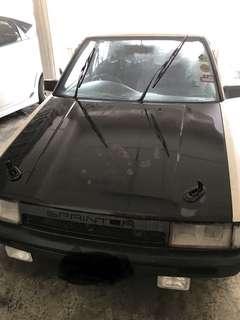 Toyota LE blacktop