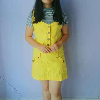 Baby Terry Yellow Dress