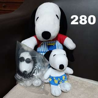 Snoopy stuffed toy set