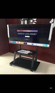 """BNIB Solid TV Stand in Black Matt 40""""-65inch ( support up to 150kg)  ReAdy stock ( Only 1 )"""