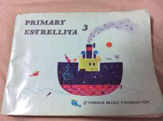 Primary 3 Estrellita Yamaha Music Foundation piano book