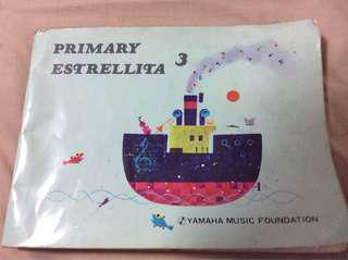 Primary 3 Estrellita Yamaha Music Foundation piano book
