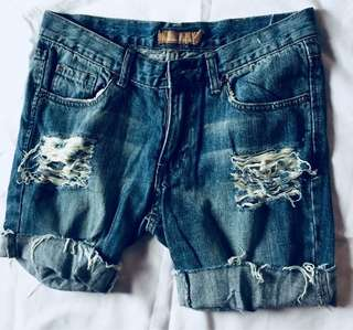 Ripped denim (size 30)