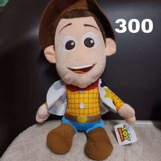 Woody stuffed toy with tag