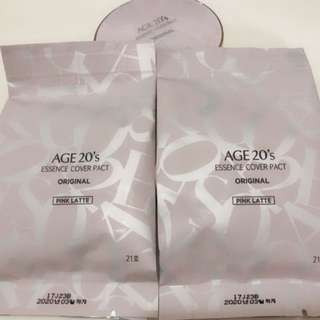 Age20's essence cover pact