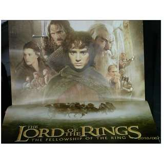 LOTR Lord of the Rings Magazine Poster