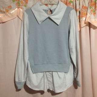 Korean Long Sleeve Top