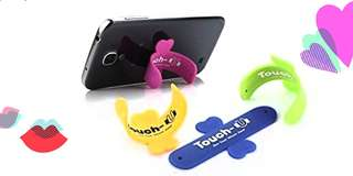 Mobile silicone stand: Set of 3
