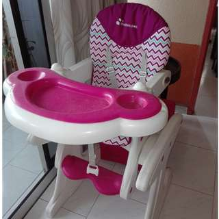 Baby Chair for Feeding, can be transformed into a table
