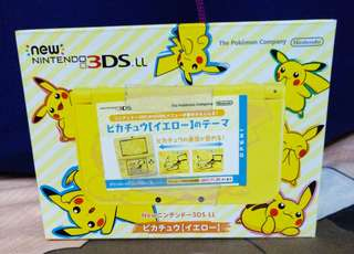 Nintendo 3DS LL Pikachu Limited Edition