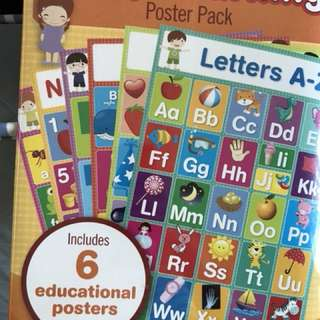 Educational Poster Pack
