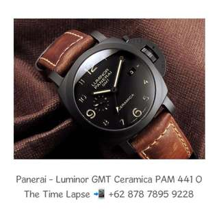 Panerai - Luminor GMT Ceramica PAM 441 'O'