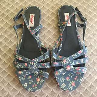 AUTHENTIC CATH KIDSTON FLORAL SANDALS