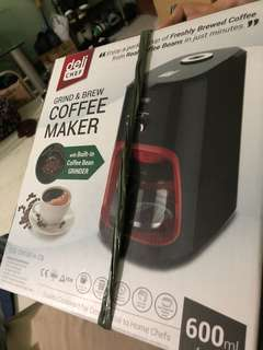 Small coffee maker and grinder brand nee