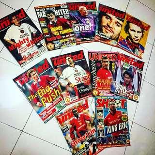 Old ManUtd magazines