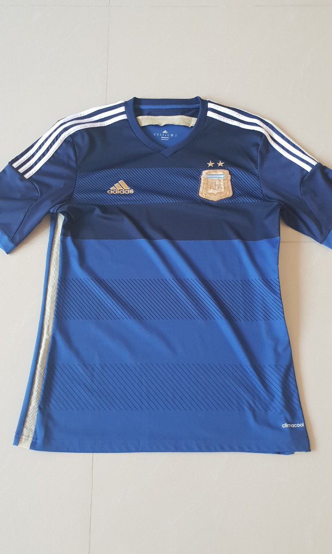 43df8a847be Adidas 2014 adidas Argentina away authentic football jersey