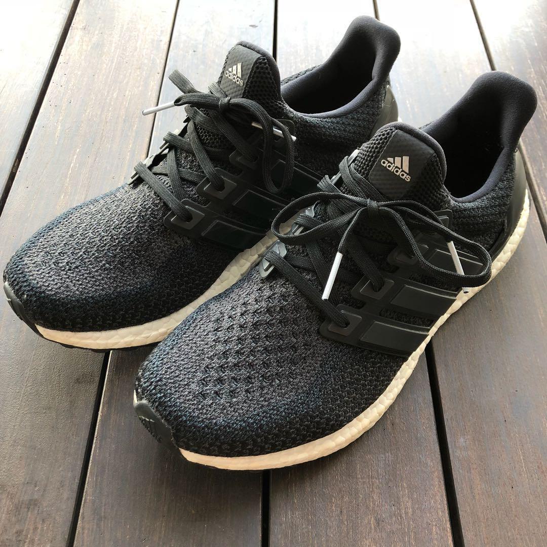 Adidas Ultra Boost 2.0 Core Black (US 9