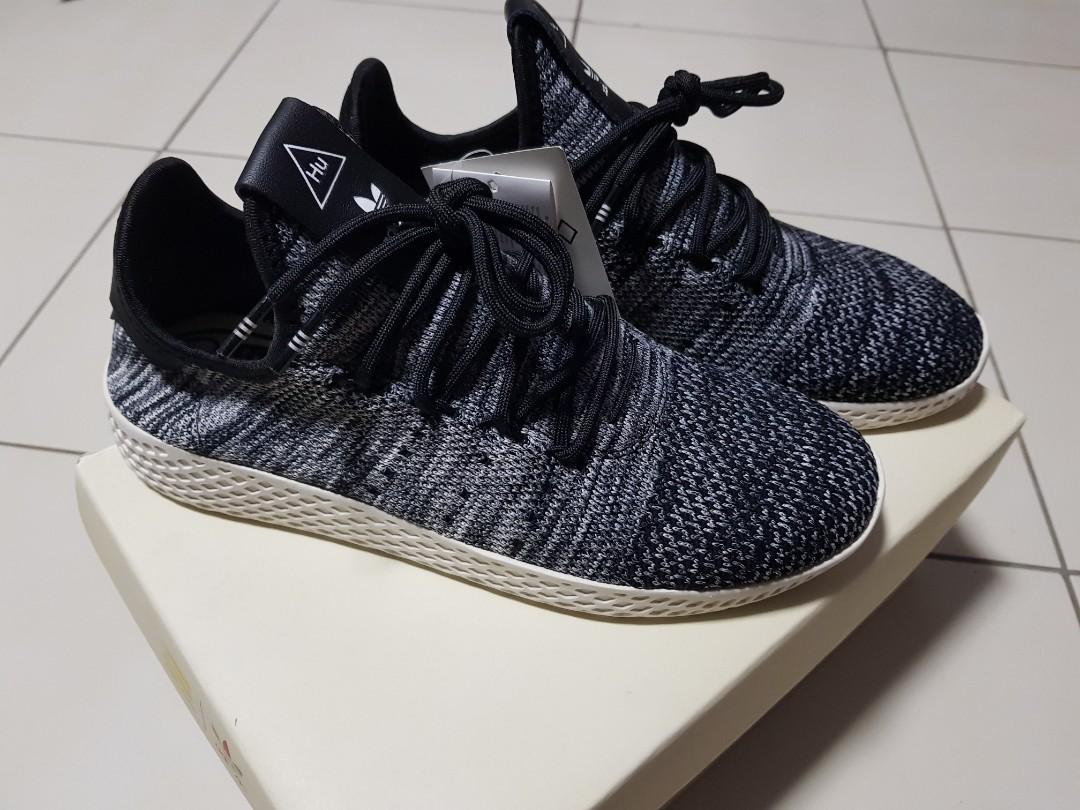 1ed2e313de81e Adidas x Pharrel Williams Tennis Hu Pk Oreo - UK 7