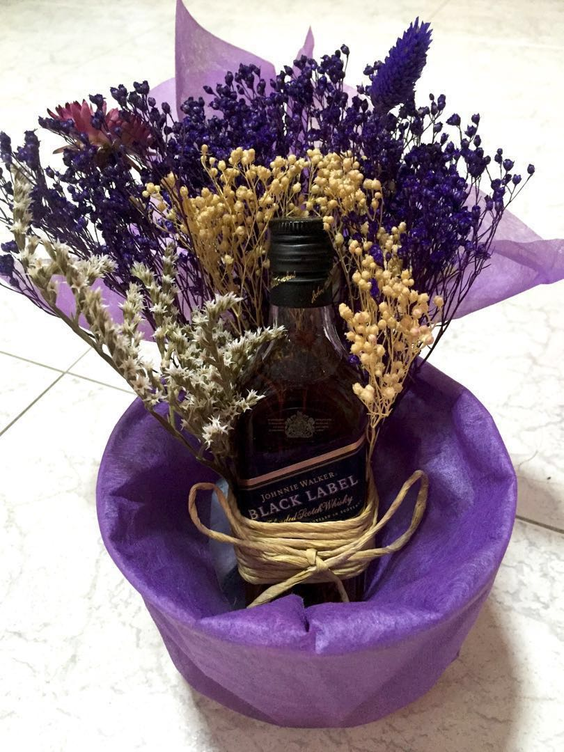 Alcohol Gift Father Day 21st Birthday Flower Food Drinks Beverages On Carousell