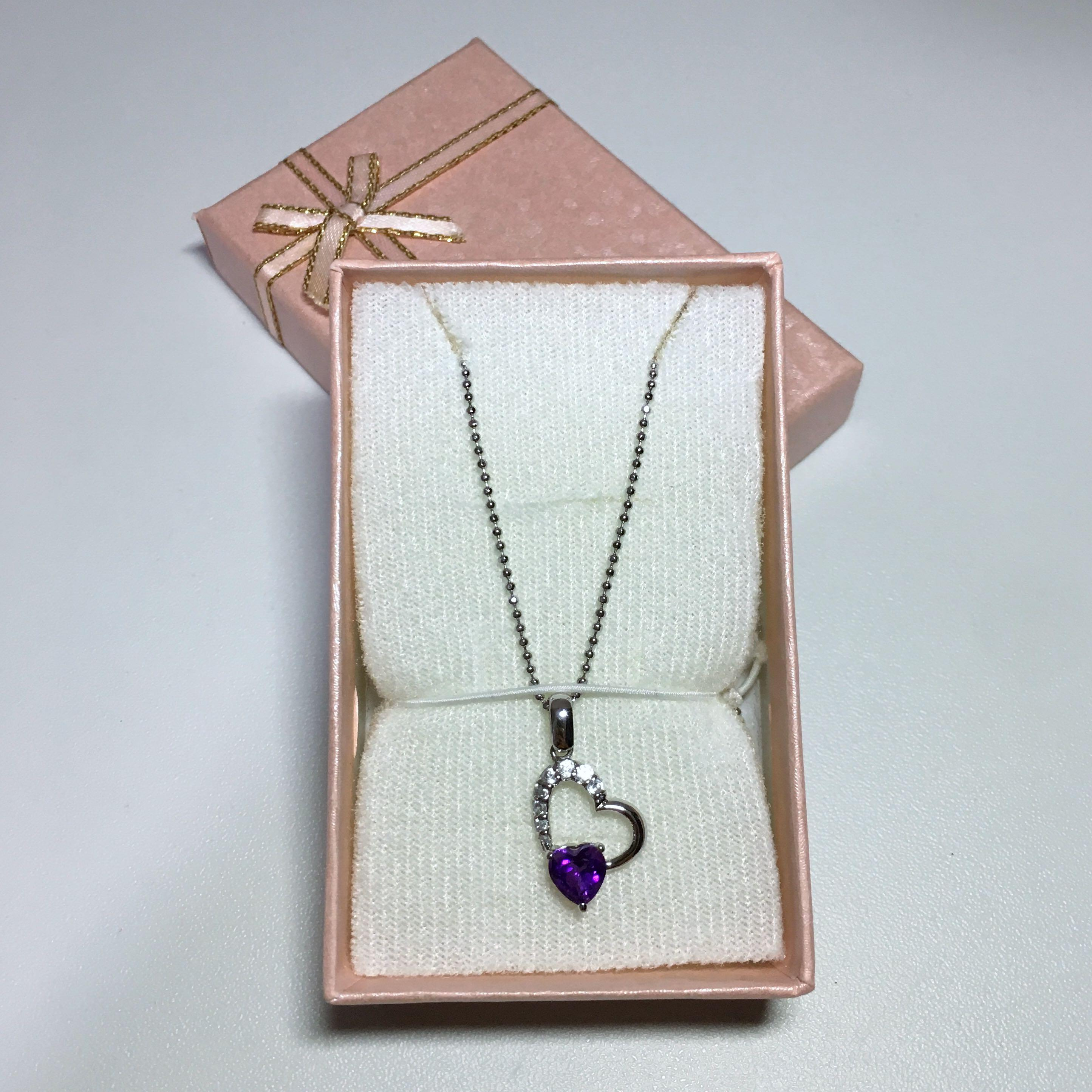 Authentic Amethyst Necklace from Korea