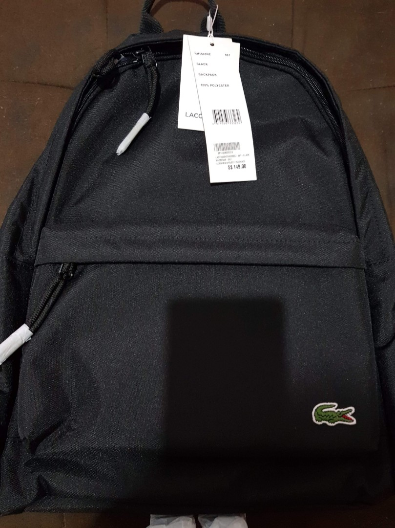 05cb4cfb97886d Authentic Lacoste backpack for sale