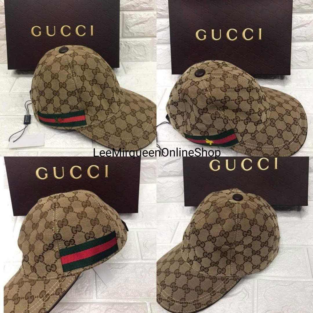 Authentic Overrun Gucci Cap with Box b3429314868