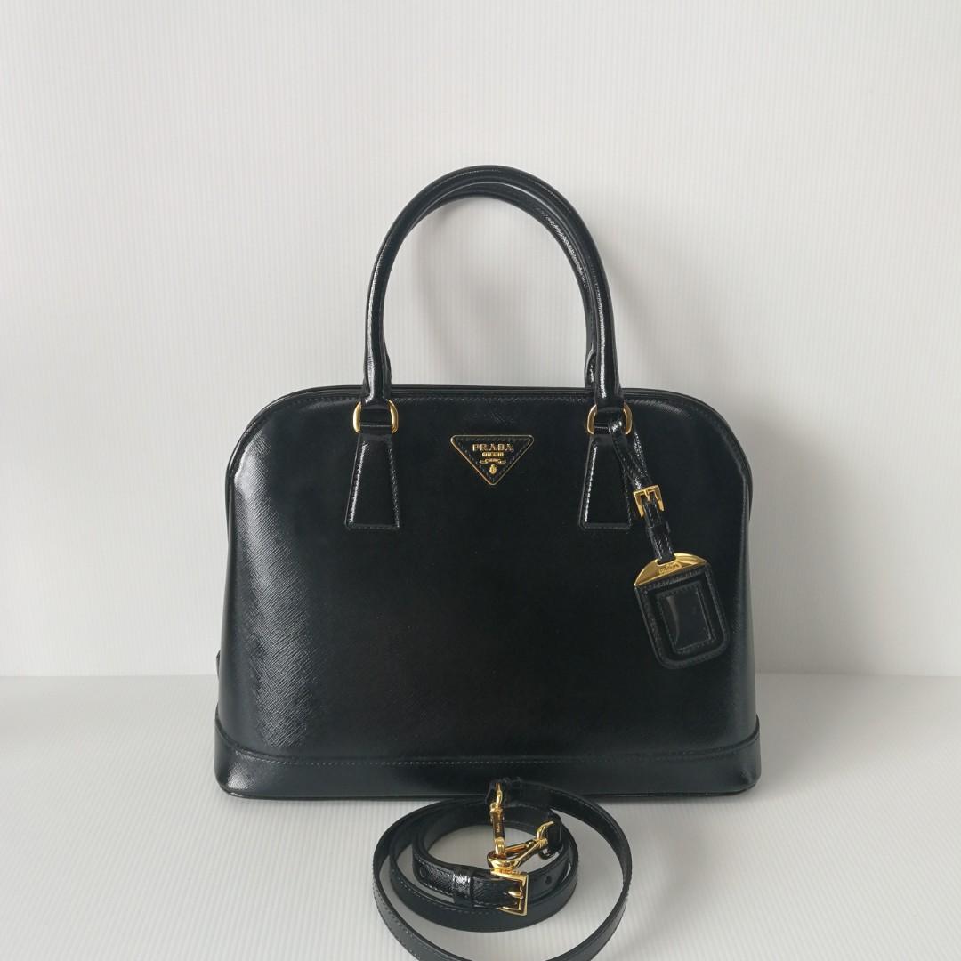 2e4ff8b7d5 Authentic Prada Alma Saffiano Bag