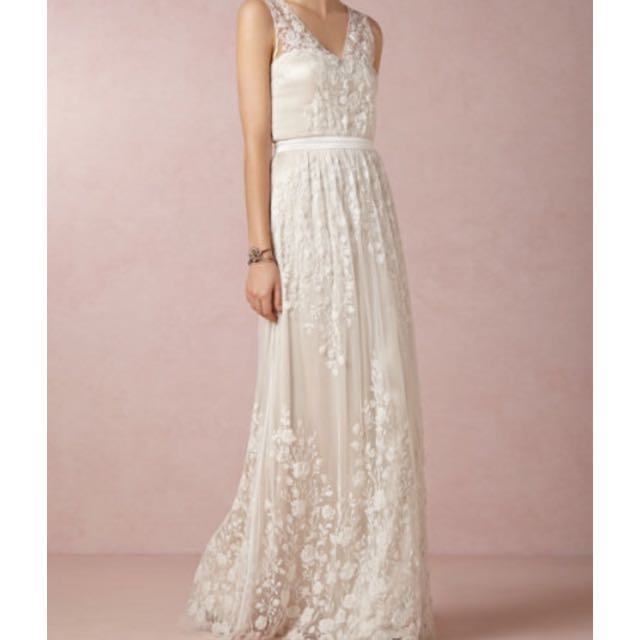 Bhldn Catherine Deane Sian Design Wedding Dress Women S Fashion On