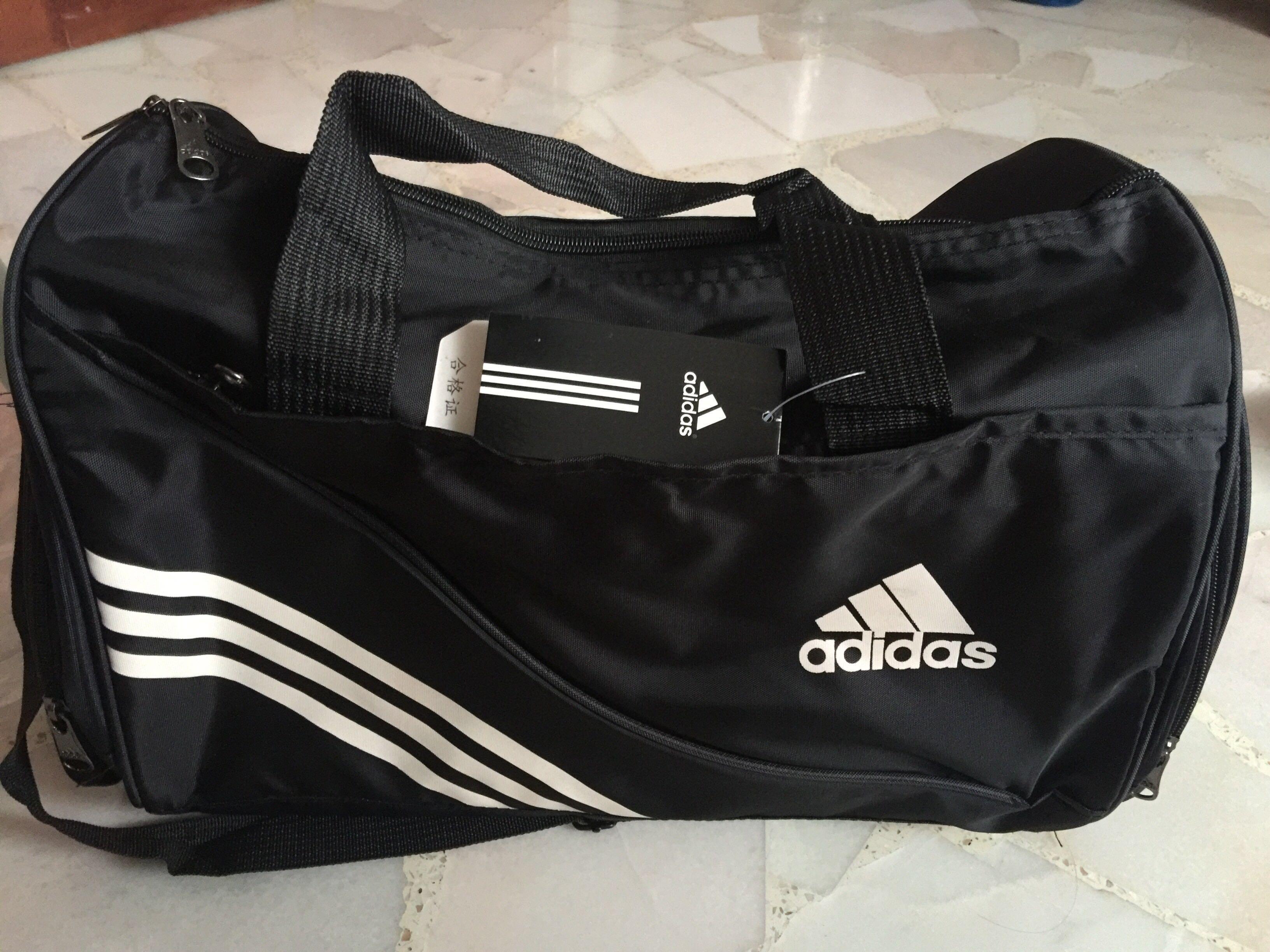 BNWT Replica Adidas Duffel Bag