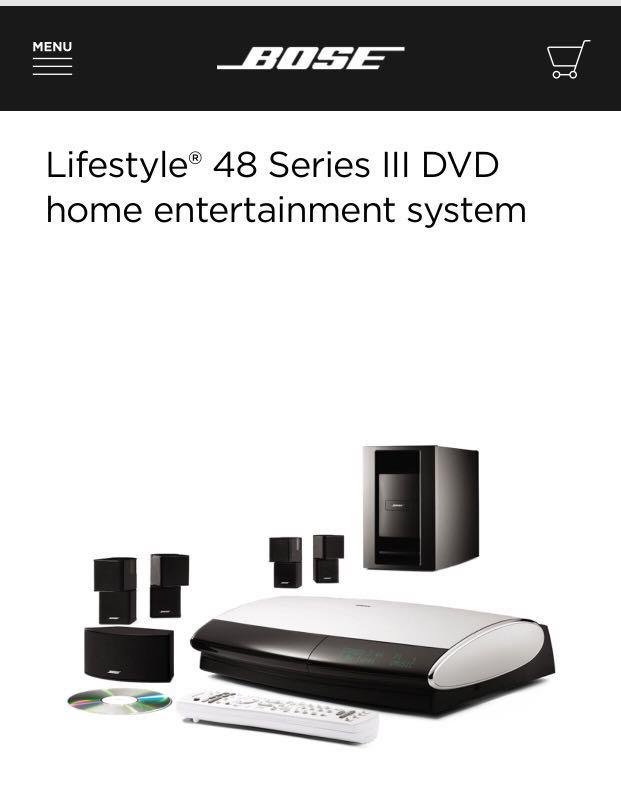 Bose Sound System >> Bose Home Theatre Complete Sound System Electronics Audio