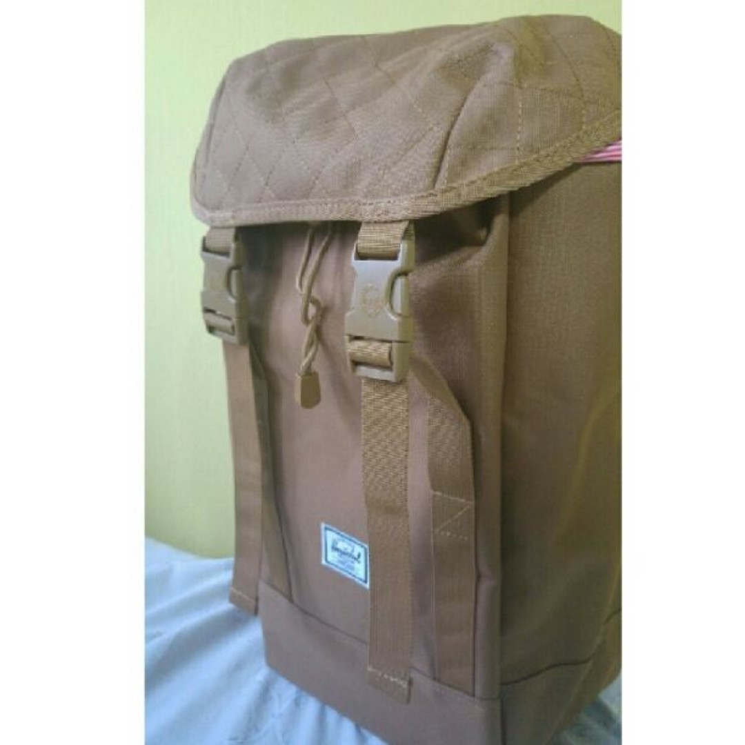 8afb5a06271 Brand New Herschel Supply Brown Quilt Iona Backpack