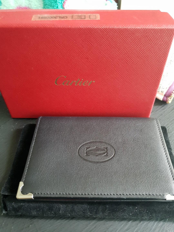 online retailer 02260 b1b2b Cartier card case