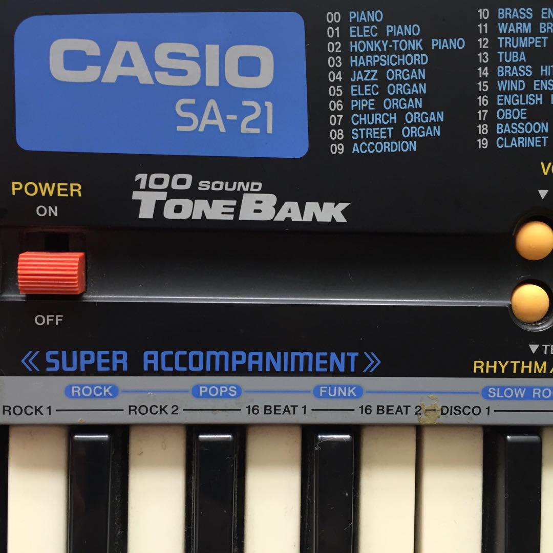 Casio SA-21 Electric Keyboard