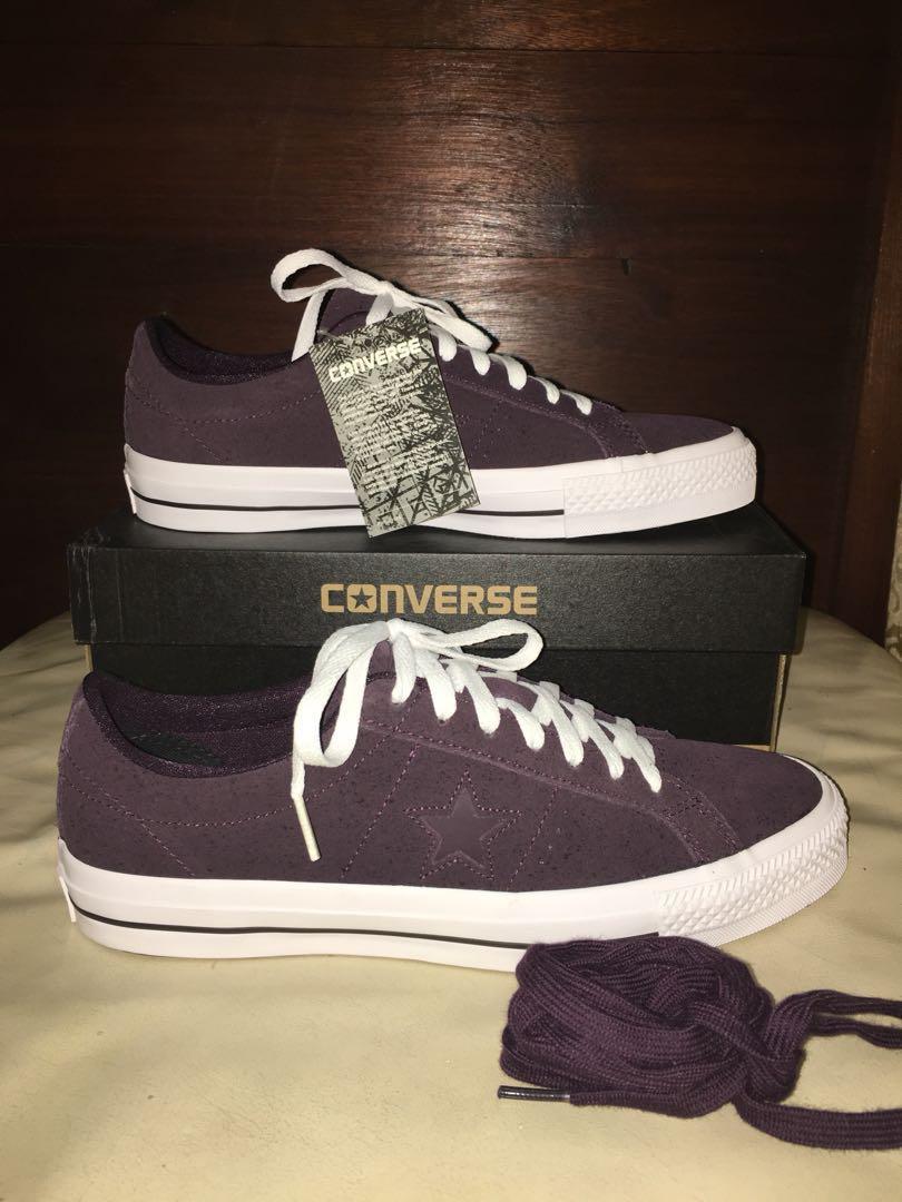 5f04b6764ff7e0 ... usa converse one star pro ox black cherry mens fashion footwear on  carousell 850f0 cf2dc