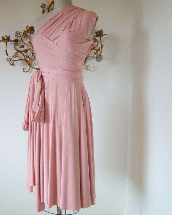 102b1cfcc3 Convertible Dress in Pink