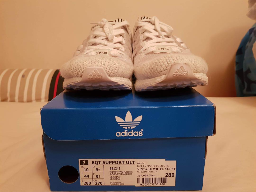 EQT SUPPORT ULTRA BOOST Vintage white
