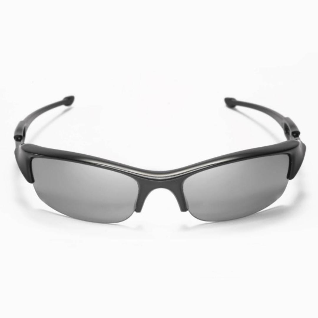 5392d84fb8 Flak Jacket Titanium POLARIZED Replacement Walleva Lense for Oakley Flak  Jacket Sunglasses