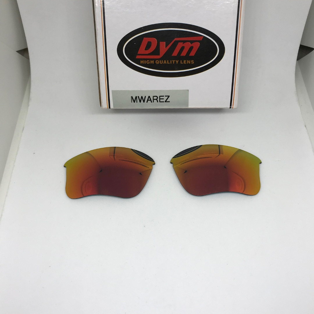 c06f3dbfd39 Flak Jacket XLJ Fire Red POLARIZED Replacement DYM Lenses for Oakley ...