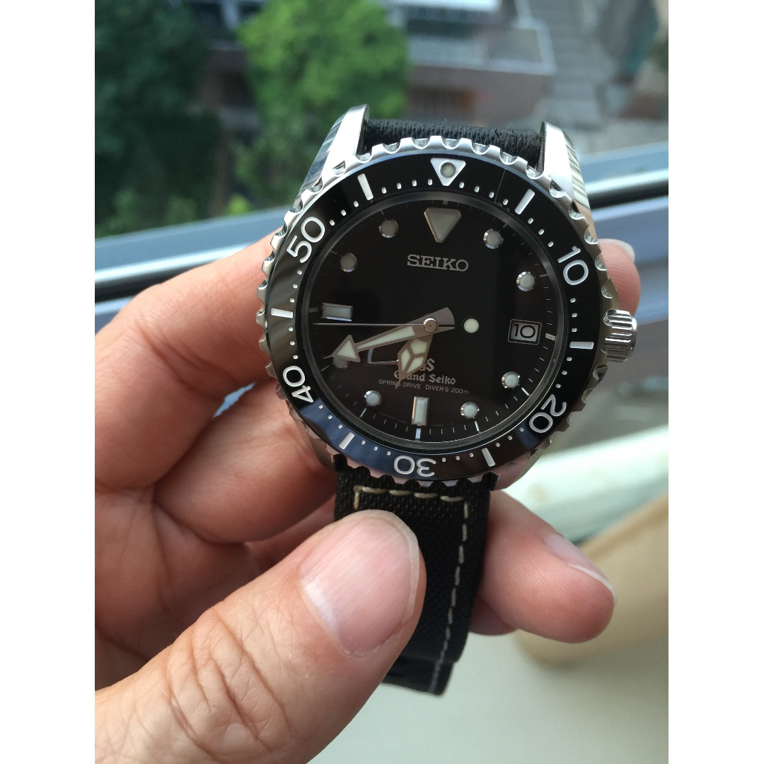 FS - The Grand Seiko Spring Drive Diver SBGA029 (High end Diver's watch),