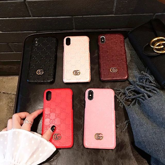 on sale 5f577 bd36c Gucci hard case iPhone X Samsung Note 8 S8 S9