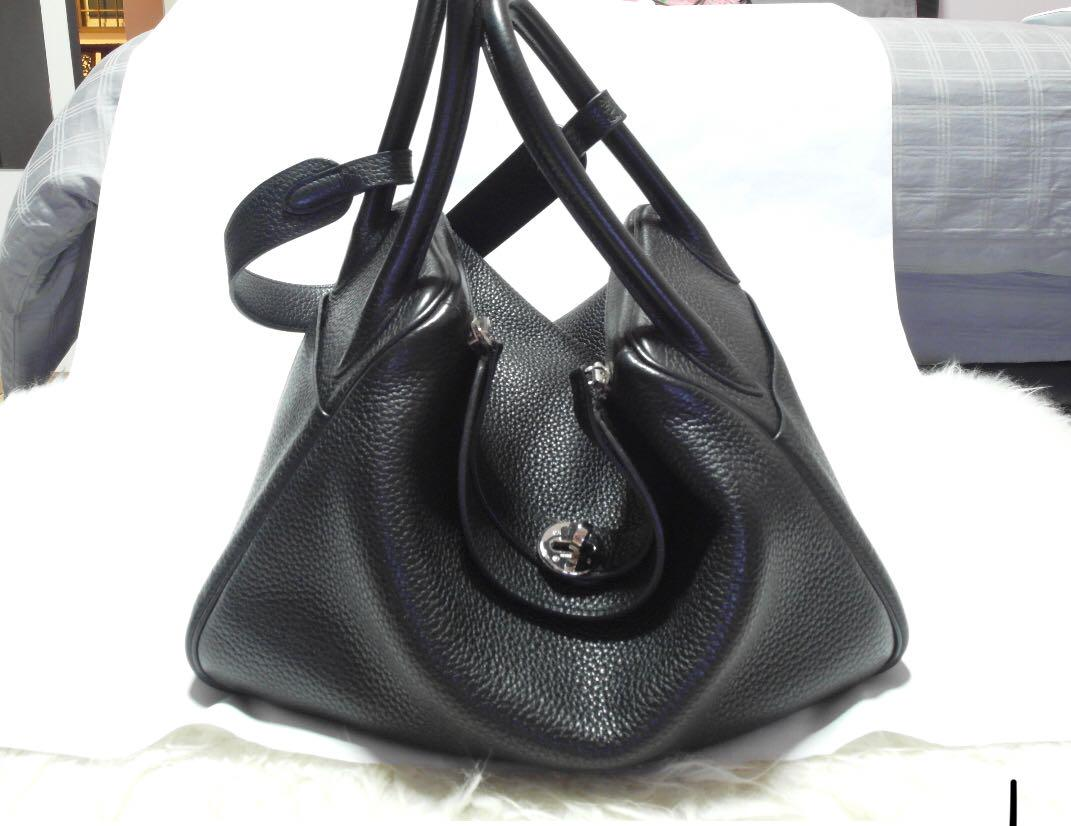 Hermes Lindy 30 Black Used